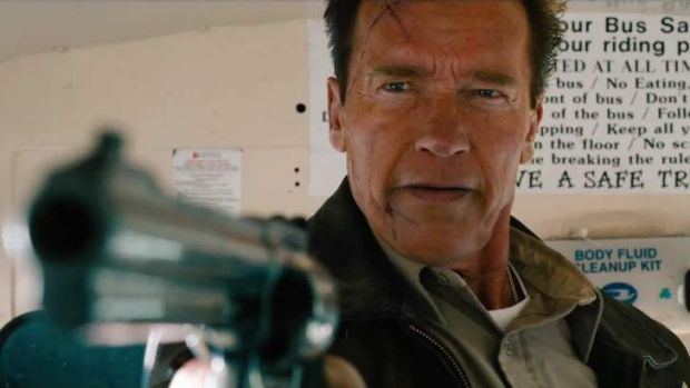 Arnold Schwarzenegger in <i>The Last Stand</i>.