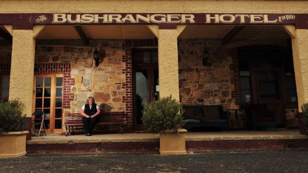 Owner of the historic Bushranger Hotel, Dianne Betts, has listed the hotel for sale.