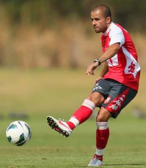 In the swing: Melbourne Heart skipper Fred may return against Sydney FC.