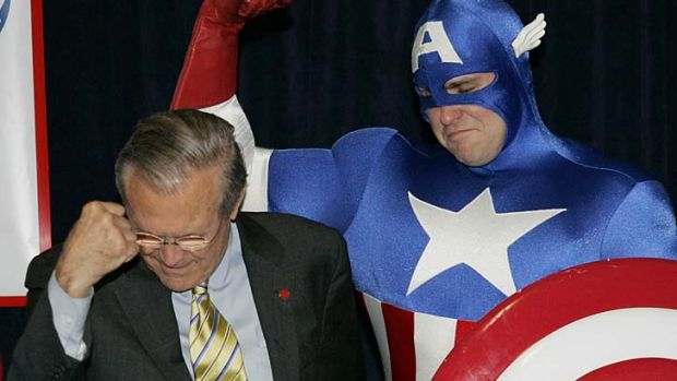 Rumsfeld's Rules: the former US secretary of defence says that after wrestling, everything else in life is easy.