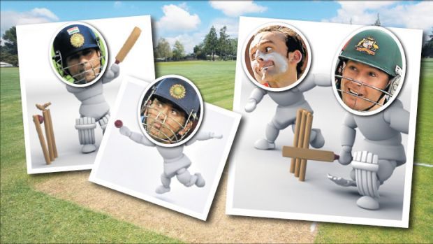 Here's how we think the cricket went down in Chennai.....