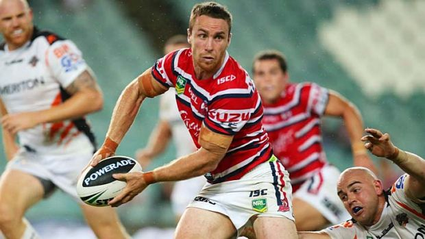 Worth the wait ... James Maloney.