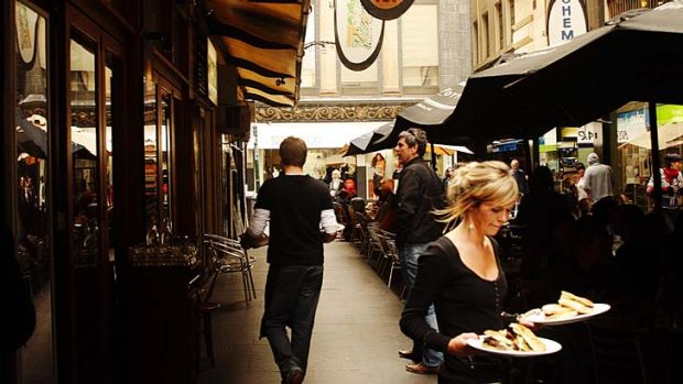 International buyers will have the chance to stroll through Melbourne's laneways.