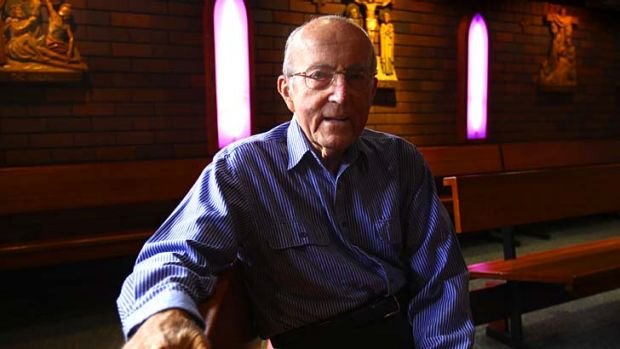 Pastoral endeavours ... Father John McSweeney was in his 69th year as a priest.