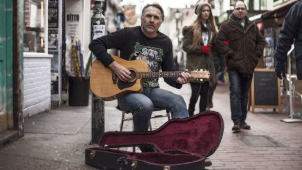 The former Olympian says he has been forced to busk on the streets of London after reports of his business dealings made ...