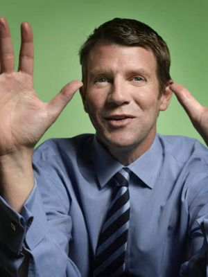 'Today compared to this time 12 months ago is chalk and cheese' ... NSW Treasurer Mike Baird.