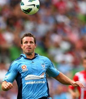 Harsh reality … Lucas Neill was solid on debut.