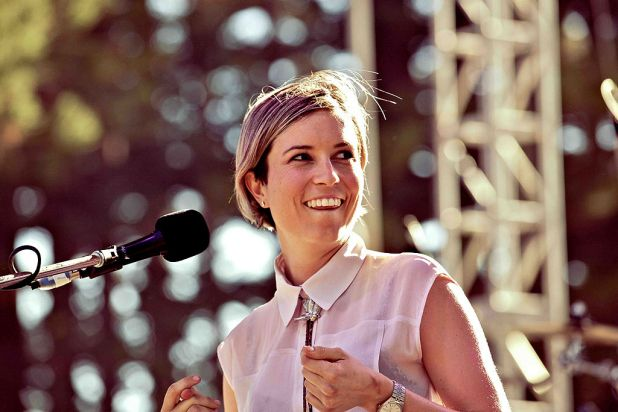 Missy Higgins performs.