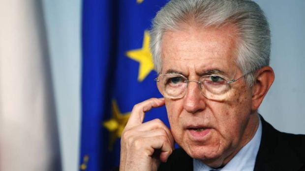 Mario Monti dutifully imposed austerity on Italy and Italy's economy shrank as a result.