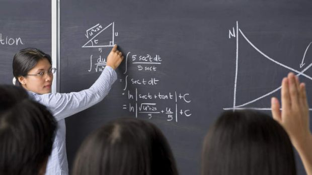 Gender divide ... the proportion of girls not studying maths has tripled over the past decade.