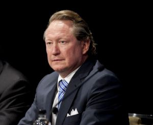 Wooed: Andrew Forrest.