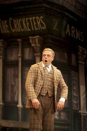Owain Arthur stars in the Australian tour of the successful West End production, <i>One Man, Two Guvnors</I>.