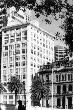 The Astor in Macquarie Street, built in 1923, was considered Sydney's first high-rise apartment block.