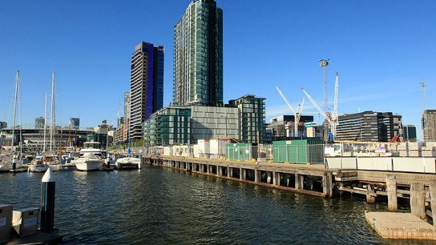 Victoria Harbour at Docklands.