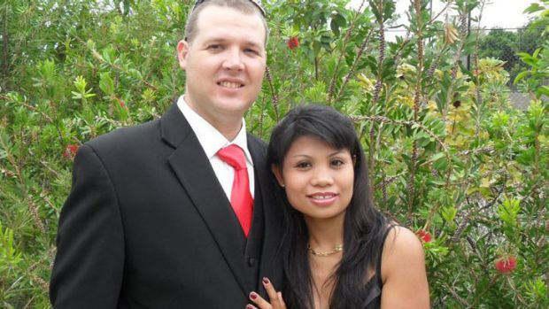"Michael Headley, with wife Adolfina ... ""loved by all family and friends""."