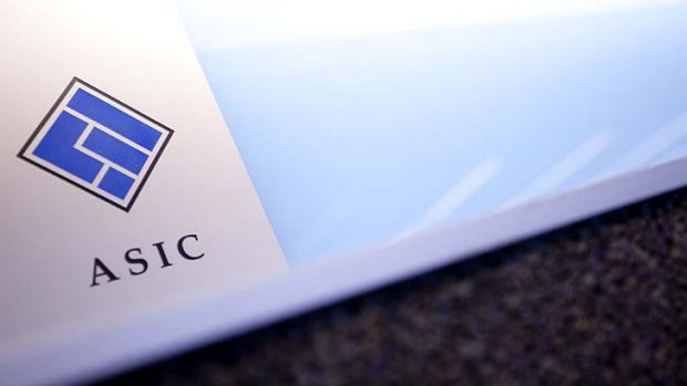 ASIC's processes questioned.