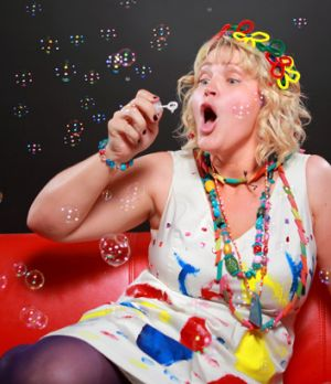 """Comedian Jenny Wynter brings her show """"Wonderland"""" to the Powerhouse as part of the 2013 Brisbane Comedy Festival."""
