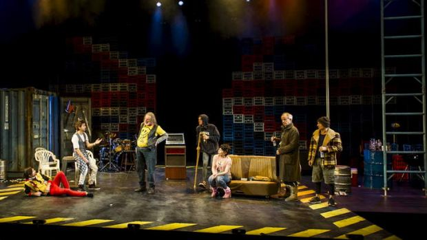 A scene from Bell Shakespeare's Henry 4 at the Canberra Theatre. Photo: Rohan Thomson.