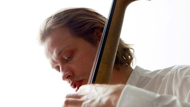 Inspired by his sister … Jasper Hoiby challenged the rhythmic and textural language of the piano/bass/drums jazz trio.