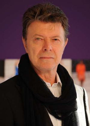 Long-awaited comeback ... David Bowie.