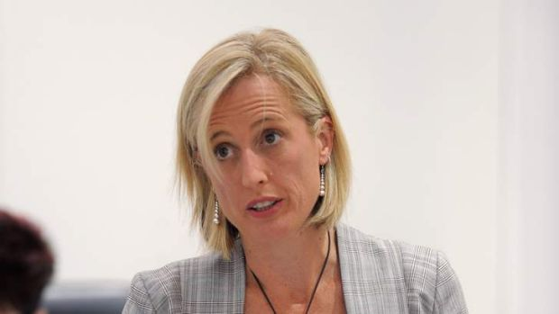 Chief Minister, Katy Gallagher.