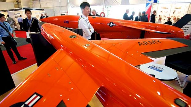 Trade Day at the Melbourne International Airshow.