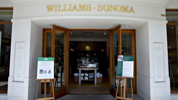 New home: US retailer Williams-Sonoma is coming.
