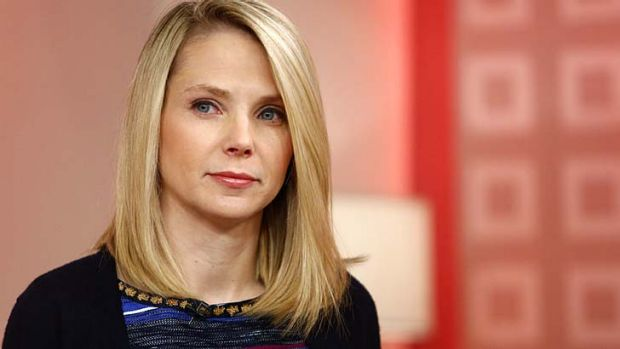 Controversial ... Yahoo chief executive Marissa Mayer has banned her employees from working from home.