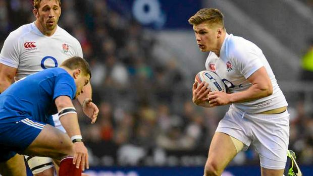 Thigh injury ... Owen Farrell.