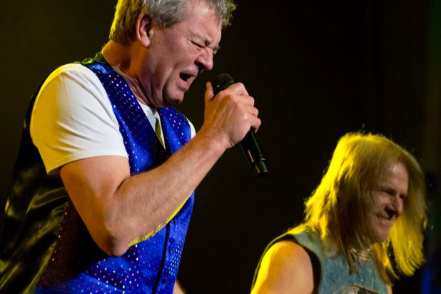 Deep Purple perform at the Brisbane Entertainment Centre.