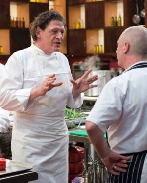 Marco Pierre White impresses in <i>MasterChef: The Professionals</i>.