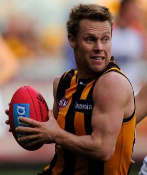 Hawthorn's Sam Mitchell will play against the Western Bulldogs on Friday night.