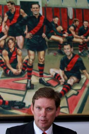 Essendon Chairman David Evans.