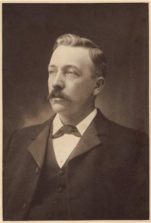 A 1901 portrait of Austin Chapman.