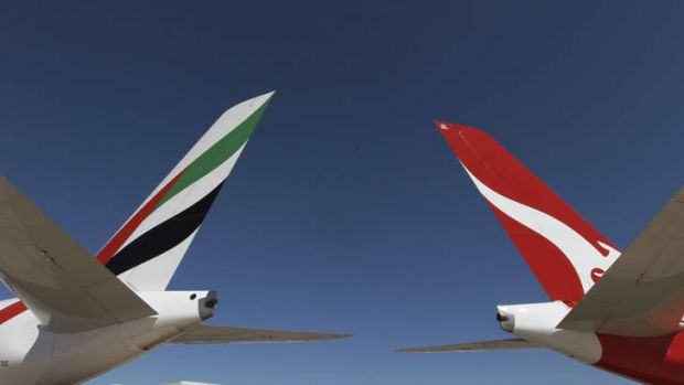 Qantas noted that the two airlines' flying operations might jointly look to buy services from other companies that offer ...