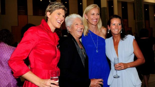 Natalie Cook, Dawn Fraser, Kerri Pottharst and Layne Beachley.