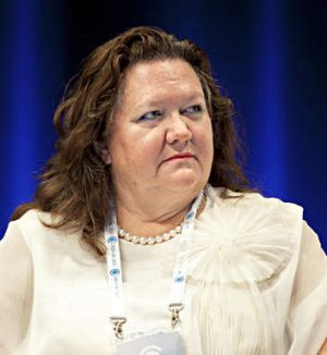 Gina Rinehart: Pilbara fight lost.