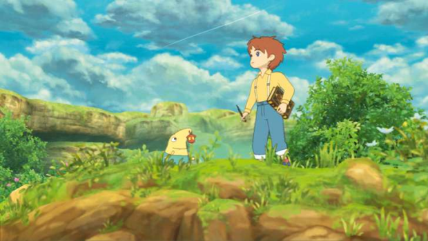 Ni No Kuni is turned into something very special thanks to its gorgeous Studio Ghibli visuals.