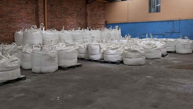 585kg of ice ... police said it was unclear how long the syndicate had been operating in Australia.