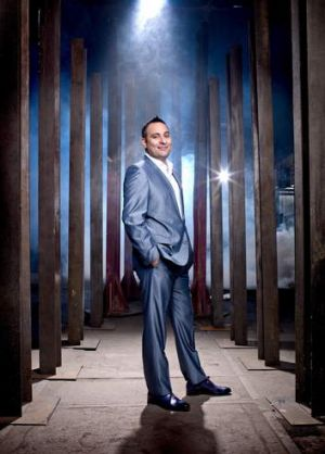 Edgy … the comedy of Russell Peters translates to global audiences.