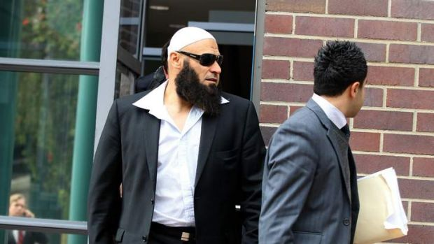 Wassim Fayad leaves Burwood Local Court last October. He has been found guilty of assault and stealing.