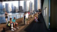 Howard Smith Wharves artist's impression
