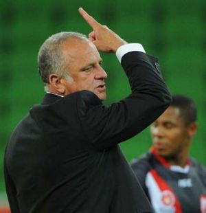 Mind games ... Graham Arnold has turned up the heat.