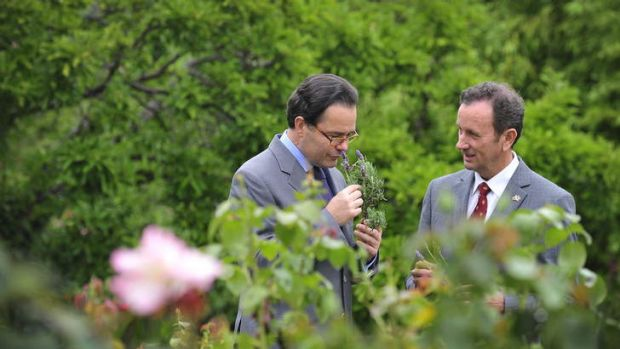 Richard Barley CEO of Open Gardens Australia and Ambassador Stephane Romatet Richard discuss the influence of French ...