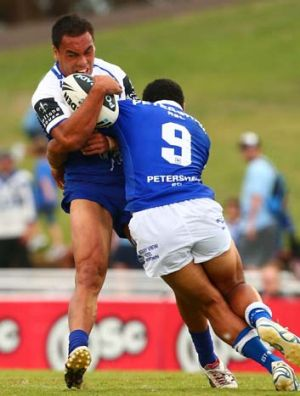 Frontrunner for the vacant Bulldogs' fullback shirt ... Drury Low.