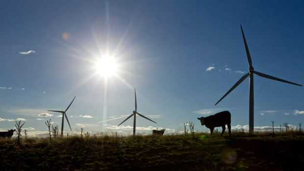 A group protesting the arrival of wind turbines to Yass were barred from a meeting at the Yass Soldiers Club.