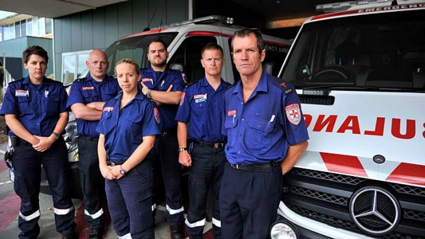 Victorian paramedics are fighting for better conditions.