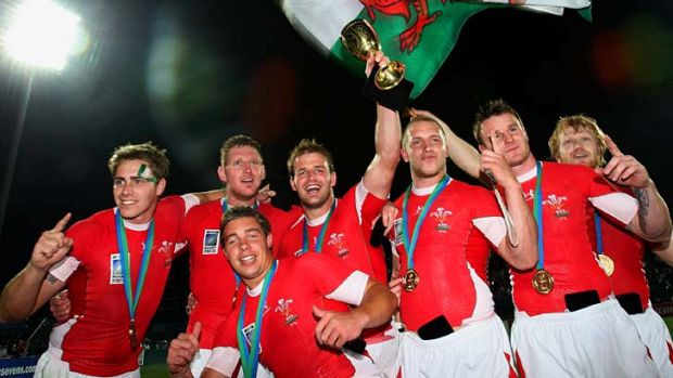 Riegning champions ... Wales took out the 2009 tournament.