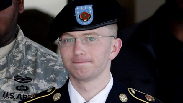 Bradley Manning ... told his side of the WikiLeaks story in public for the first time.