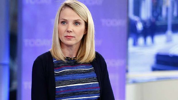 Controversial ... Yahoo chief executive Marissa Mayer has banned employees working from home.